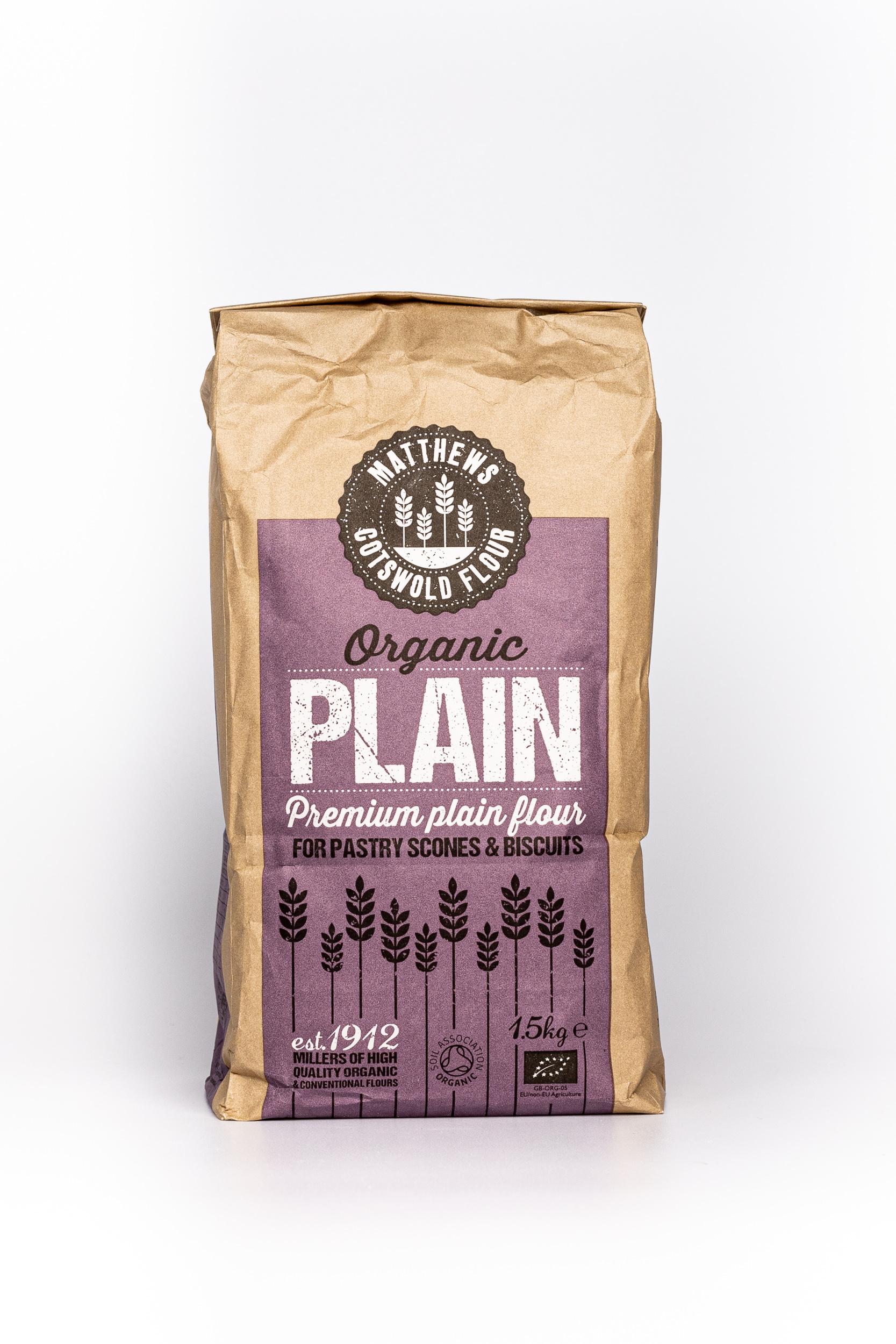 Organic Plain front